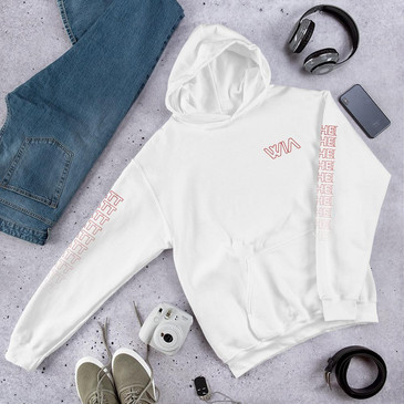 Where It's ATT Hoodie White