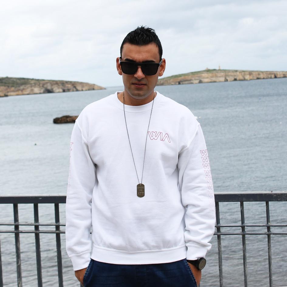 Where It's ATT Unisex Sweatshirt - White Regular
