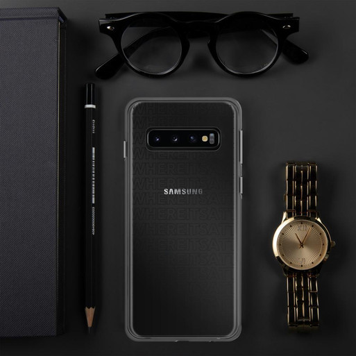 Where It's ATT Samsung Case Black