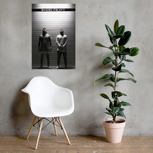 Where It's ATT Photo Paper Poster - WIA