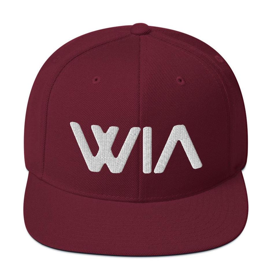 Where It's ATT Snapback Hat - Red