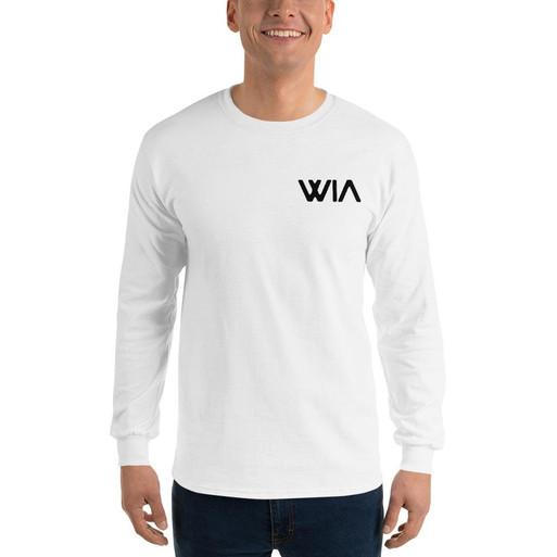 Where It's ATT Unisex Long Sleeve - White