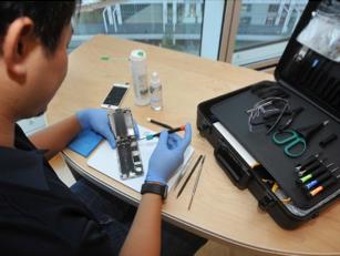 iPhoneリペアエンジニア資格認定カリキュラムの開講について