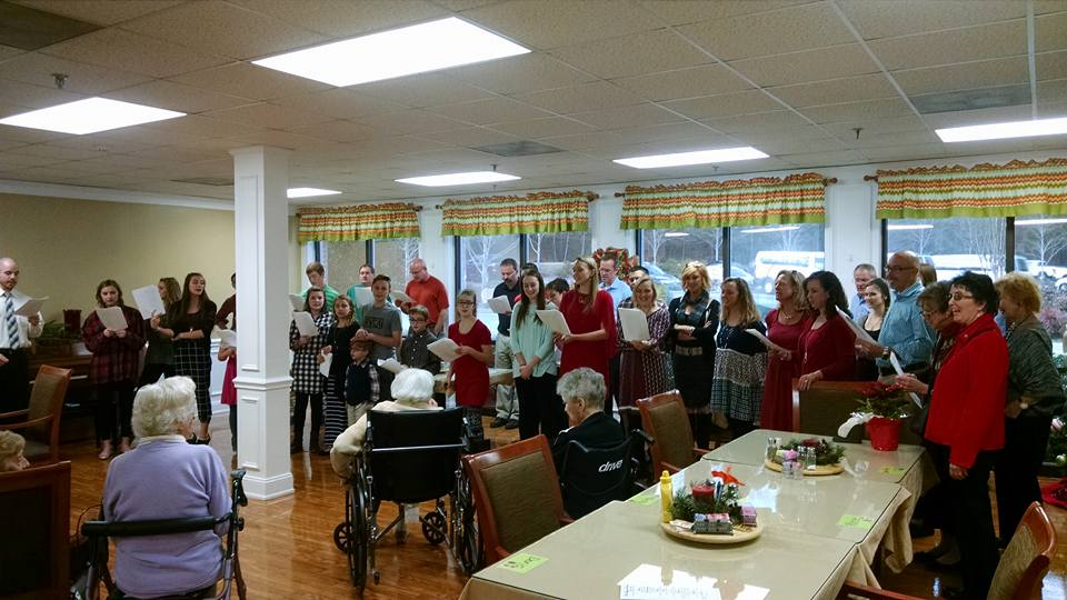 singing nursing home