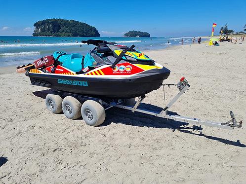 Beach Wheels 6 Wheel dolly