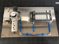 Pneumatic Backplate Assembly