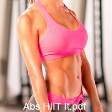 Abs HIIT 30 Day Challenge