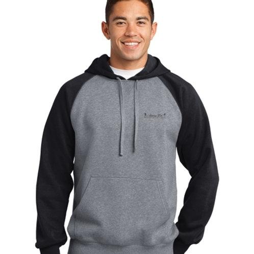 Raglan Colorblock Hooded Sweatshirt (Item # : ST267)