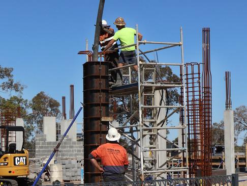 Gymnasium Construction Update