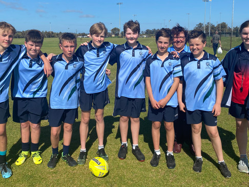 Perfect Sunny Day for the Year 7 and 8 Lightning Carnival