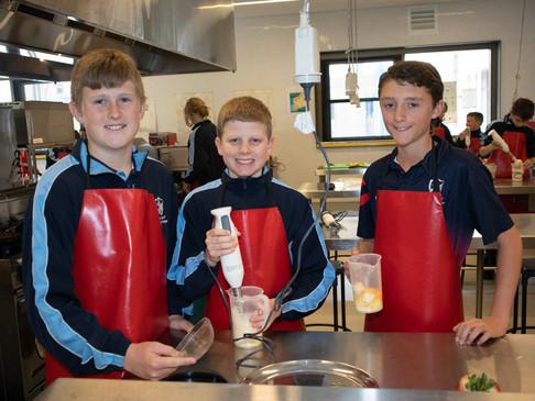 Year 7 Students Share their Banana Pancake Recipe