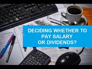 Salary or Dividend, Whats the optimum tax strategy for 18/19?