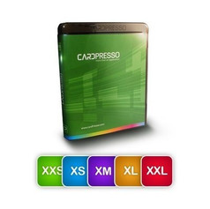 CARDPRESSO XXS, XS, M, L, XL