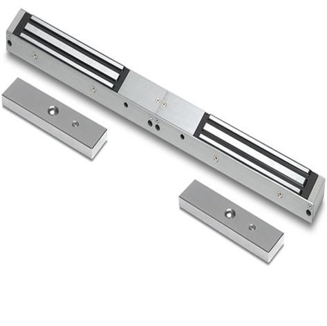 Magnetic lock/double door