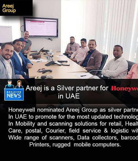 AREEJ is a Silver partner for Honeywell