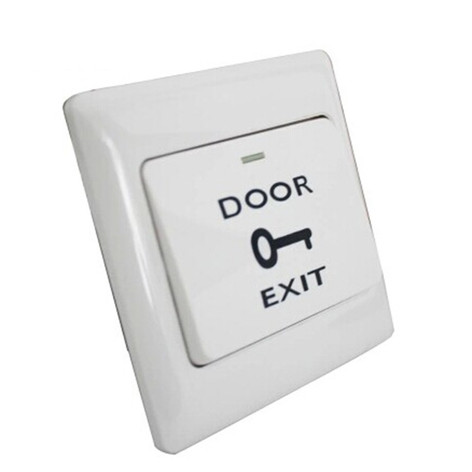 Exit button plastic