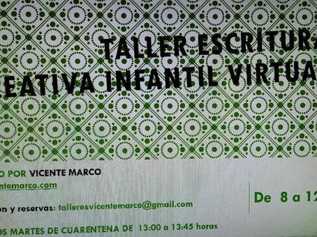 TALLER ESCRITURA VIRTUAL PARA NIÑOS