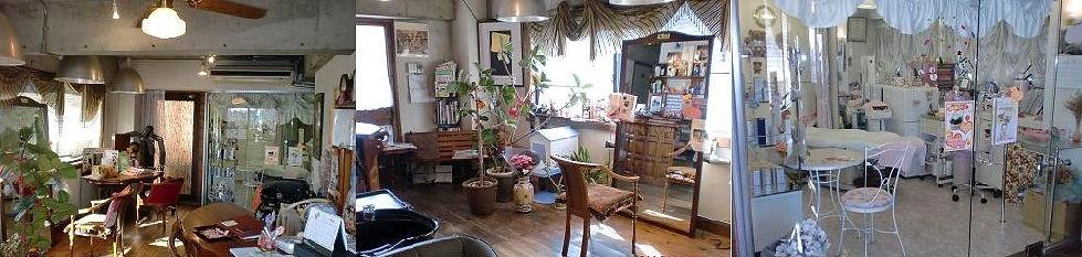 練馬高野台美容室エステティカの店内の様子