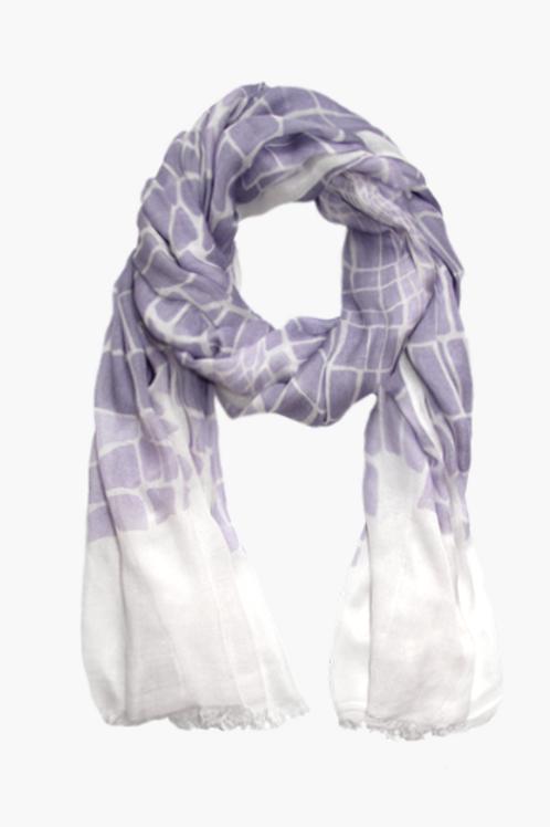 Schal Croco lilac