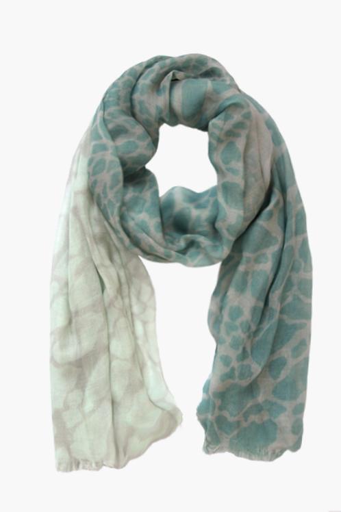 Schal Animal mint