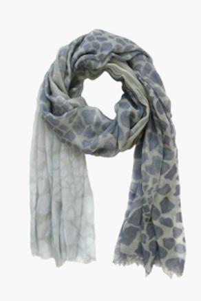 Schal Animal blue