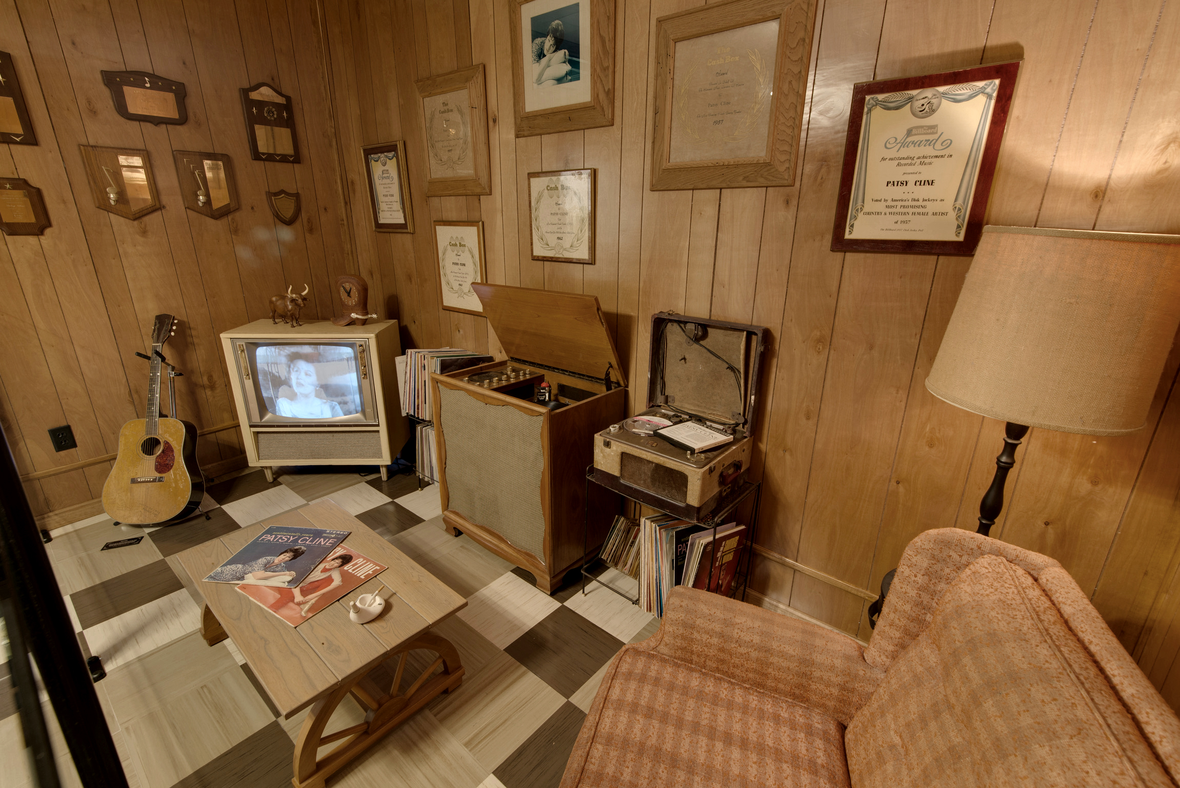 Patsy Cline Museum Room Recreation