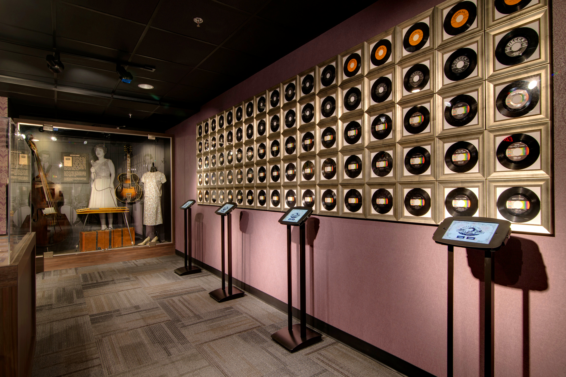 Patsy Cline Museum Records Exhibit
