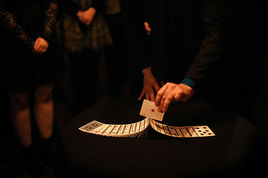 Magic at House of Cards