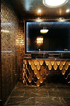 Restroom vanity in House of Cards