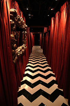 Hallway in House of Cards