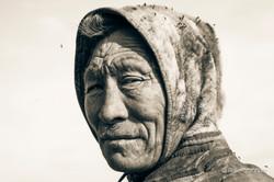 Nenets elder portrait