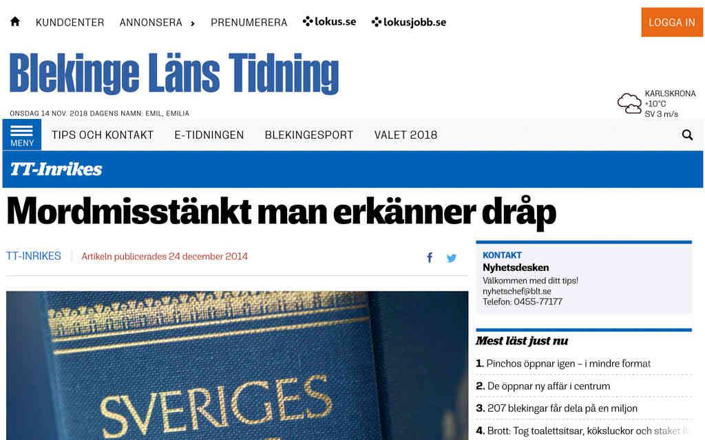 Blekinge Läns Tidning