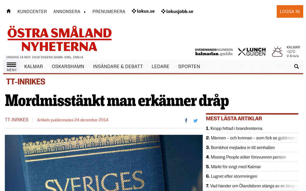 Östra Småland Nyheterna