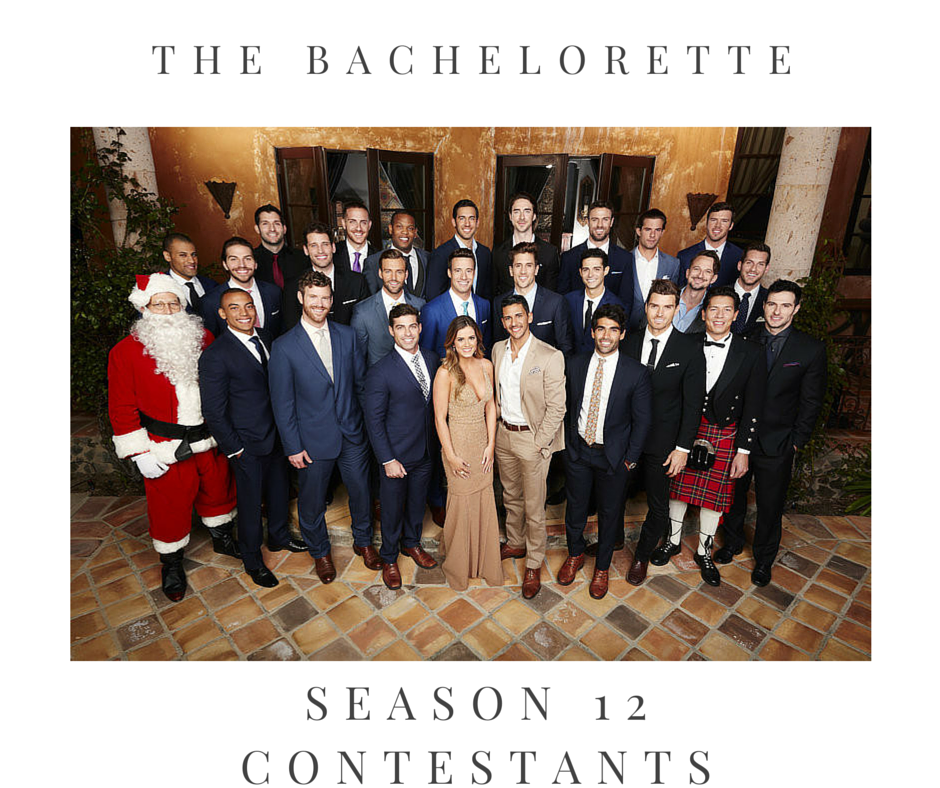 The Cast Bachelorette Season 12