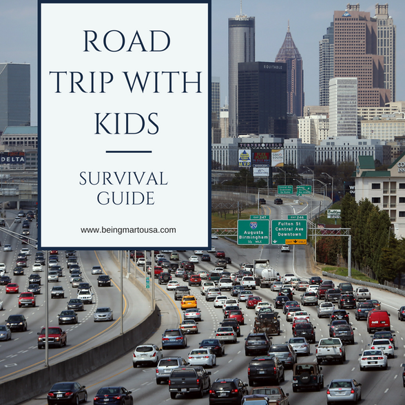Road Trip with Kids Survival Guide