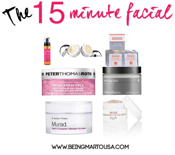 The 15 Minute Facial
