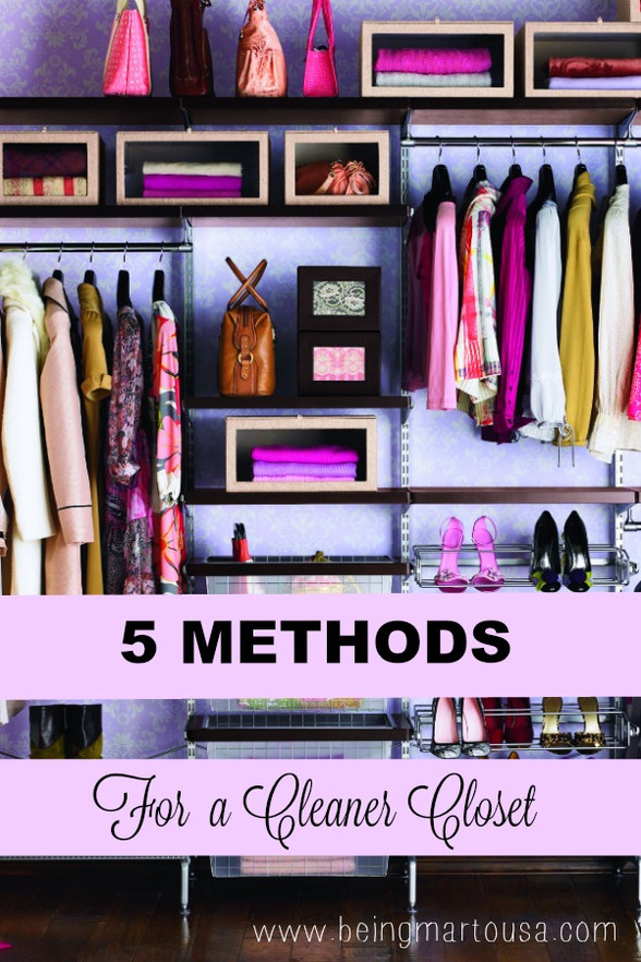 5 Methods for a Cleaner Closet