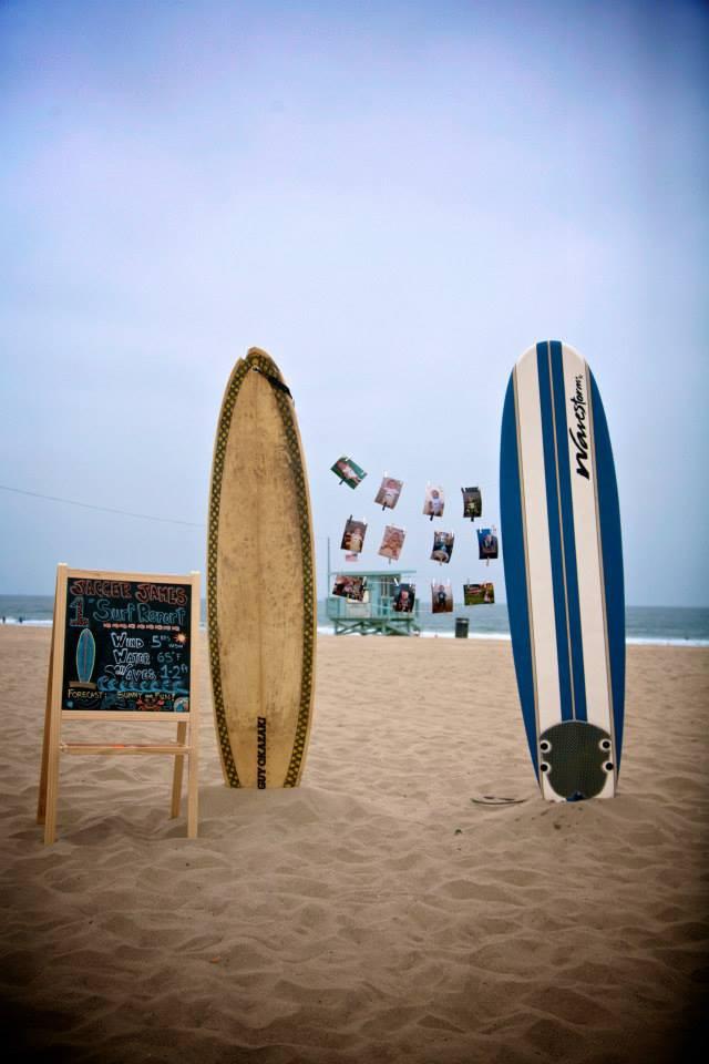 Surfboard Setup