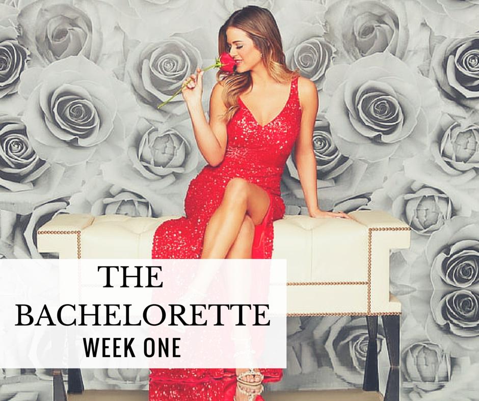 Bachelorette Week One