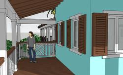 Porch Elevation 1