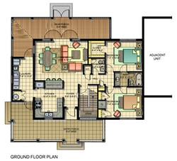 Typical Unit Ground floor plan