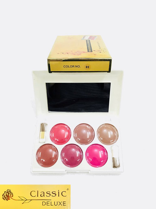 Classic Deluxe 6 Blusher Kit