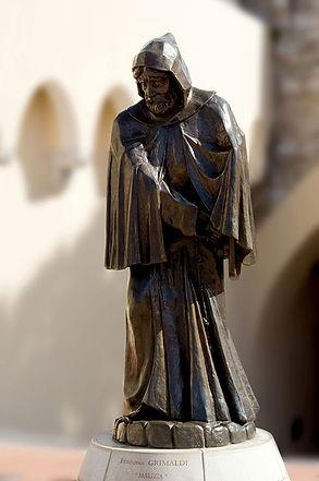 Statue de François Grimaldi, dit « Malizia »  © Reprod. G. Moufflet - Archives du Palais princier de Monaco