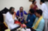 With Sri Sri Ravishankar