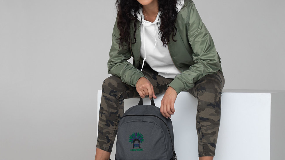 CHIEF LOUD Embroidered Champion Backpack