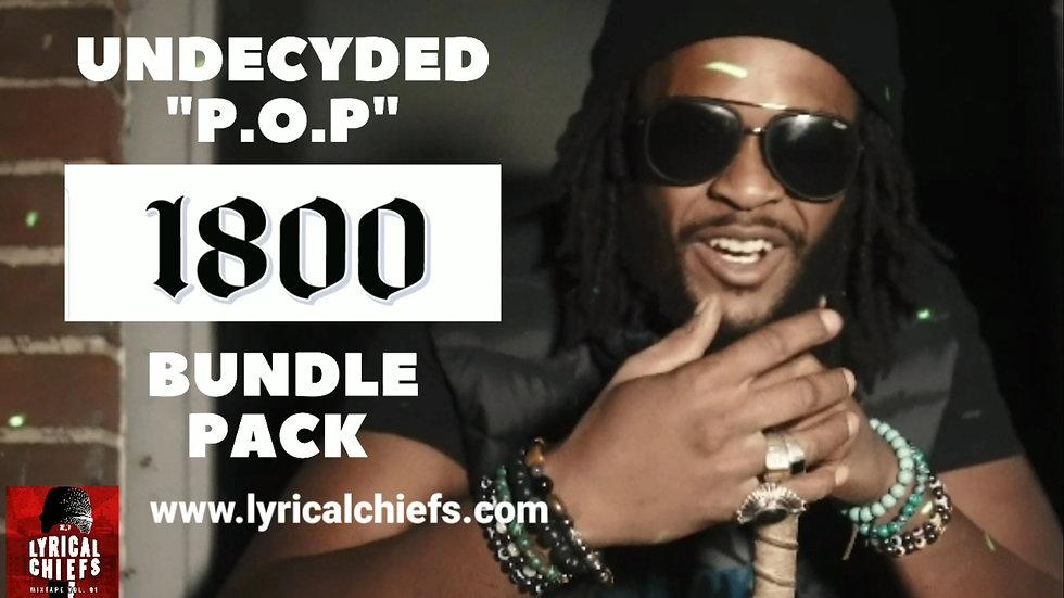 UNDECYDED 1800 BUNDLE PACK