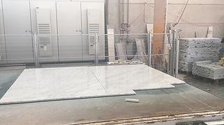 Carrara-white-marble-slabs already cut