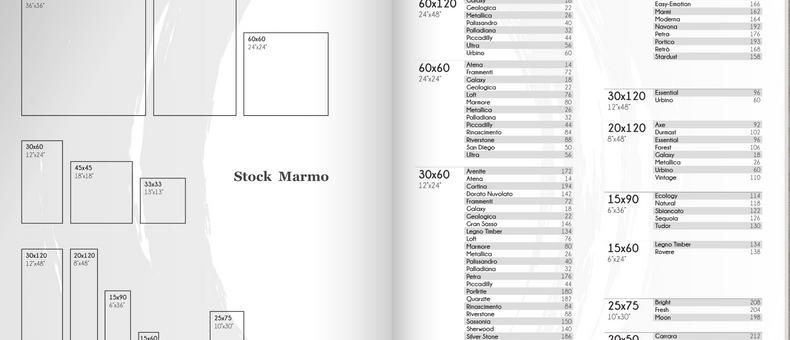 Pietra naturale a stock insieme a porcellanato stock