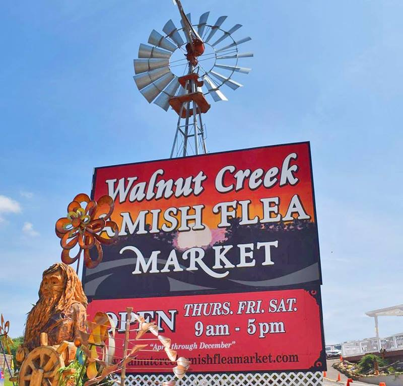 Walnut Creek Amish Flea Market
