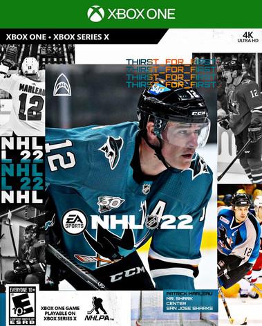 MARLEAU NHL 22 COVER ATHLETE